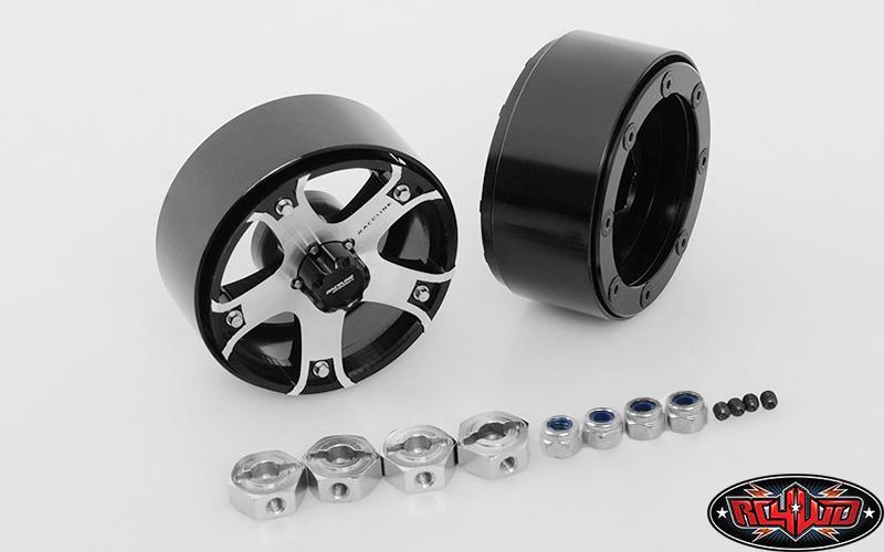 "Raceline Gunner 1.7"" Beadlock Wheels | RC4WD"