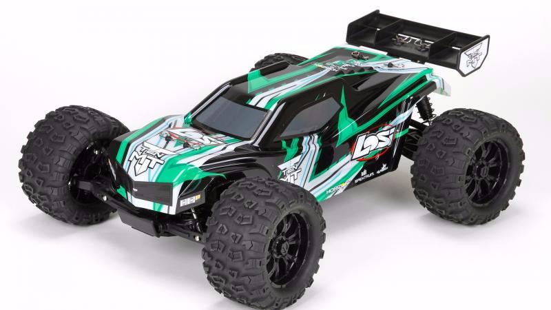 TEN MT 1/10 4WD Monstertruck met AVC | Losi