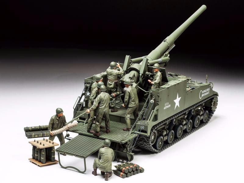 U.S. Self-Propelled 155mm Gun M40 | Tamiya