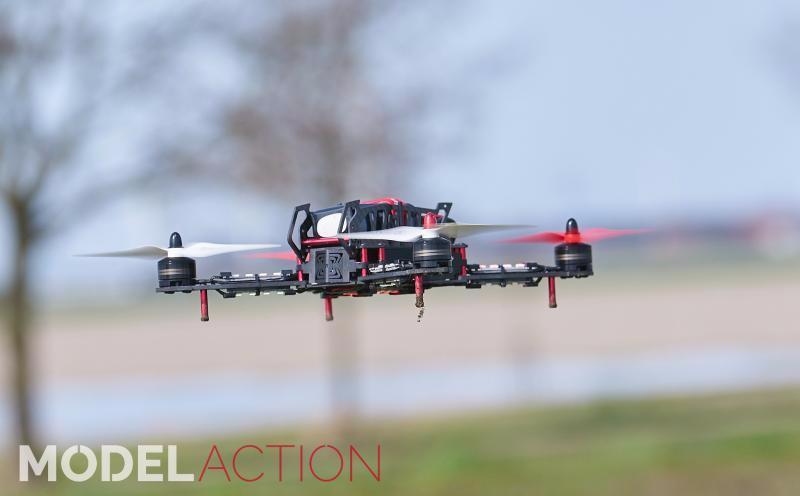 Alpha 3D Copter 300Q & HoTT MX-12 zender | Graupner