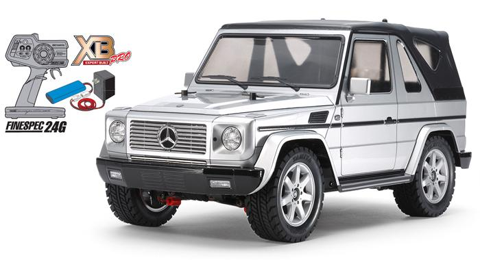 XB Mercedes-Benz G 320 Cabrio (MF-01X) | Tamiya