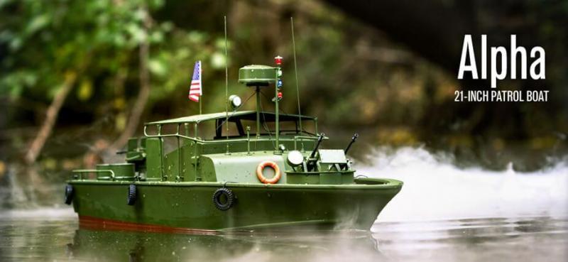 Alpha Patrol Boat | ProBoat