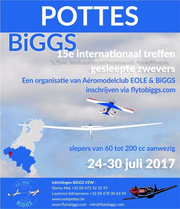 Vliegweek! | BiGGS Marathon te Pottes (B)
