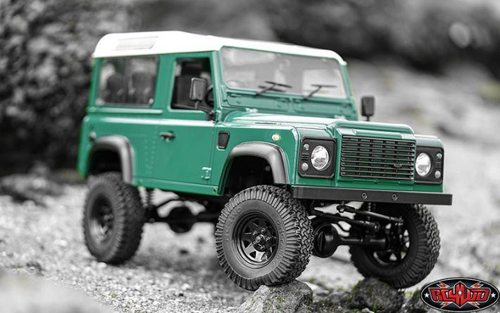 Gelande II RTR Truck met Defender D90 body set | RC4WD