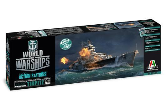 World of Warships TIRPITZ | Italeri