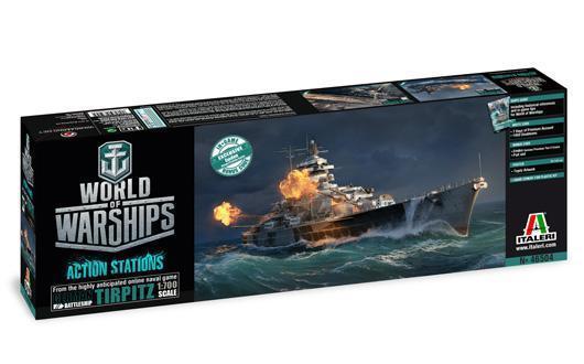 World of Warships TIRPITZ | Italeri