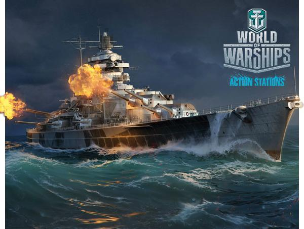 WoWS Tirpitz artwork