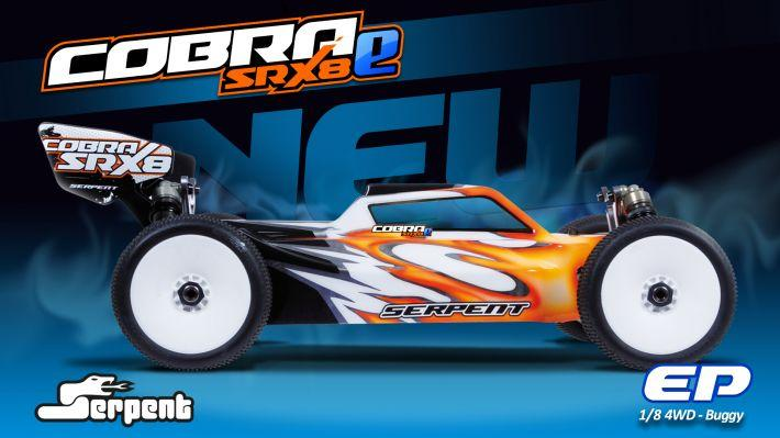 Cobra SRX8E Promo Website | Serpent