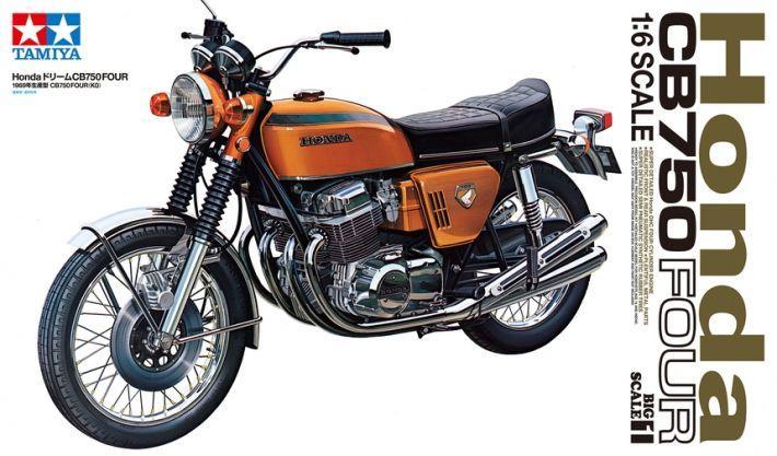 Honda Dream CB750 Four | Tamiya