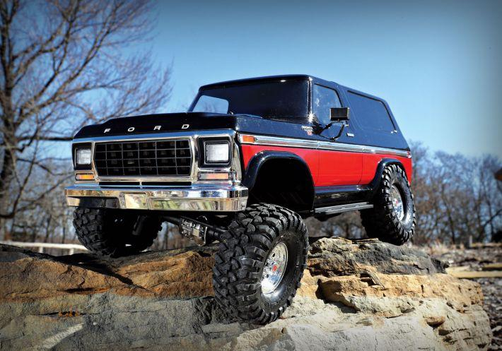 TRX-4 Ford Bronco Body & Chassis Kit | Traxxas