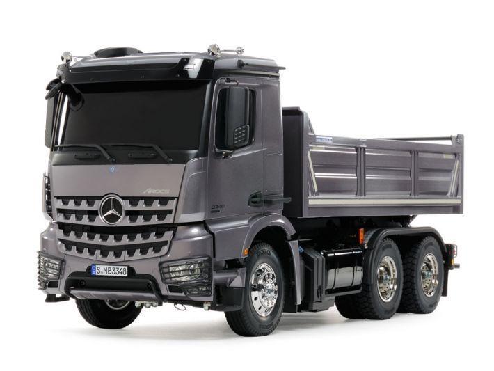 Mercedes-Benz Arocs 3348 6x4 Tipper Truck | Tamiya