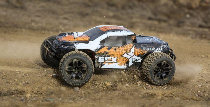 Ruckus MT 4WD V4 | ECX
