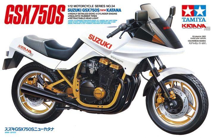 Suzuki GSX750S New Katana | Tamiya