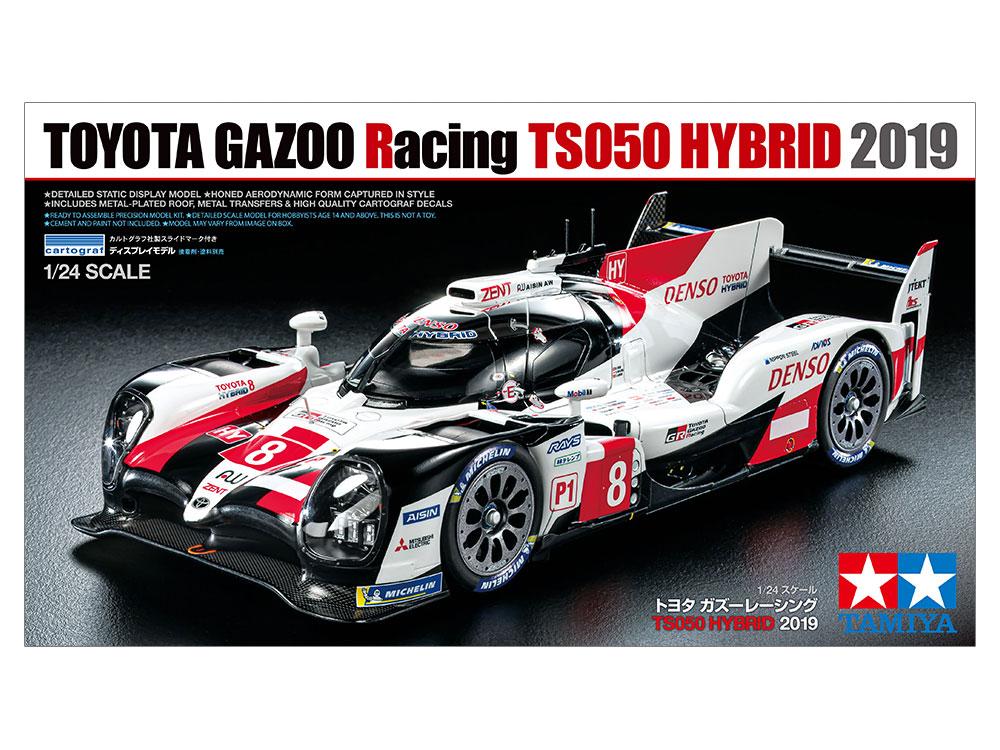 1/24 Toyota Gazoo Racing TS050 HYBRID 2019 | Tamiya