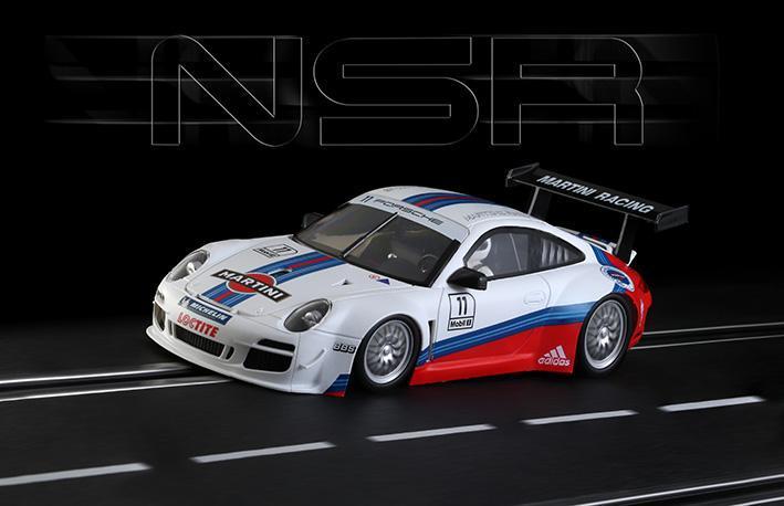 Porsche 997 Martini Racing #11 en #12 | NSR