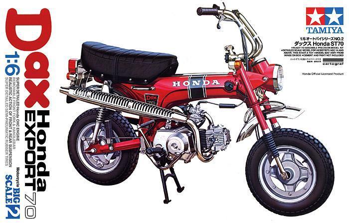 Dax Honda Export 70 | Tamiya