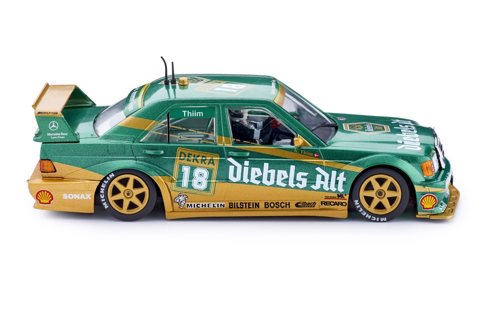 Mercedes 190e - #18 1e Zolder DTM 1992 | Slot.it