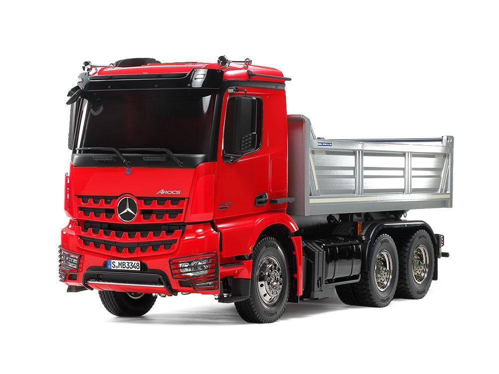 Mercedes-Benz Arocs 3348 Tipper Truck | Tamiya