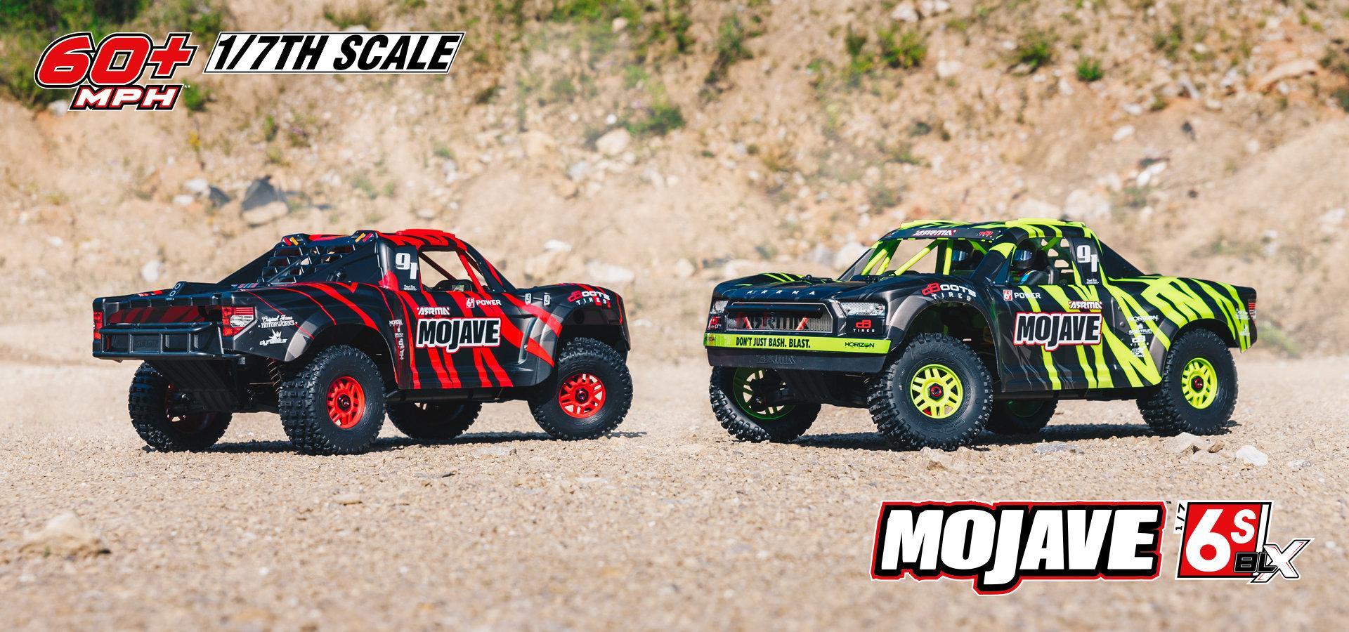 MOJAVE 6S Desert Truck 1:7 | ARRMA