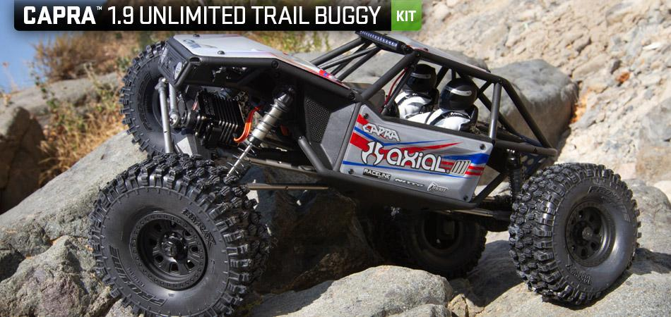 Capra 1.9 Unlimited Trail 4WD buggy KIT | Axial