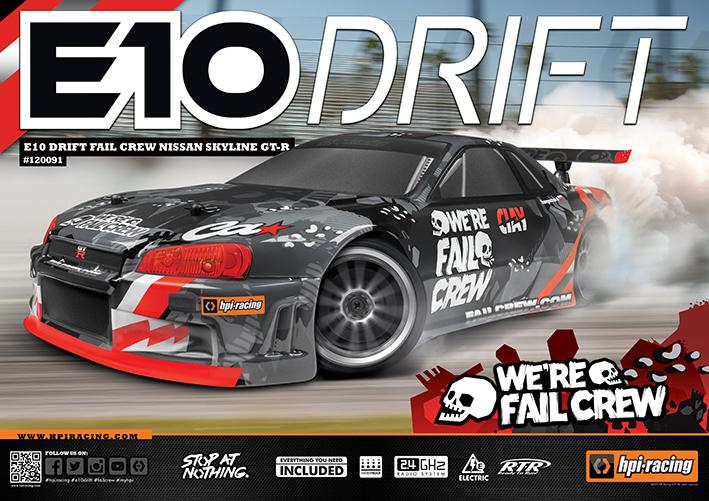 RTR E10 Drift | HPI Racing