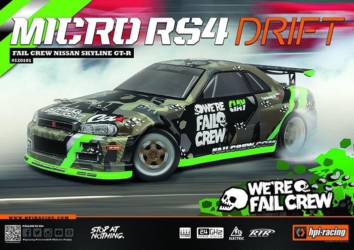 Micro RS4 Drift | HPI-Racing