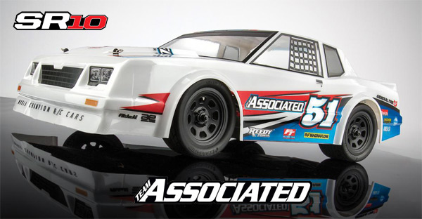 SR10 Dirt Oval RTR | Team Associated