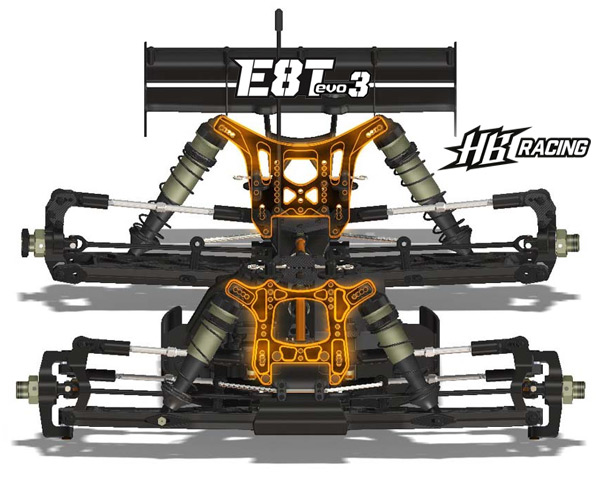E8T EVO3 1/8 Truggy | HB Racing