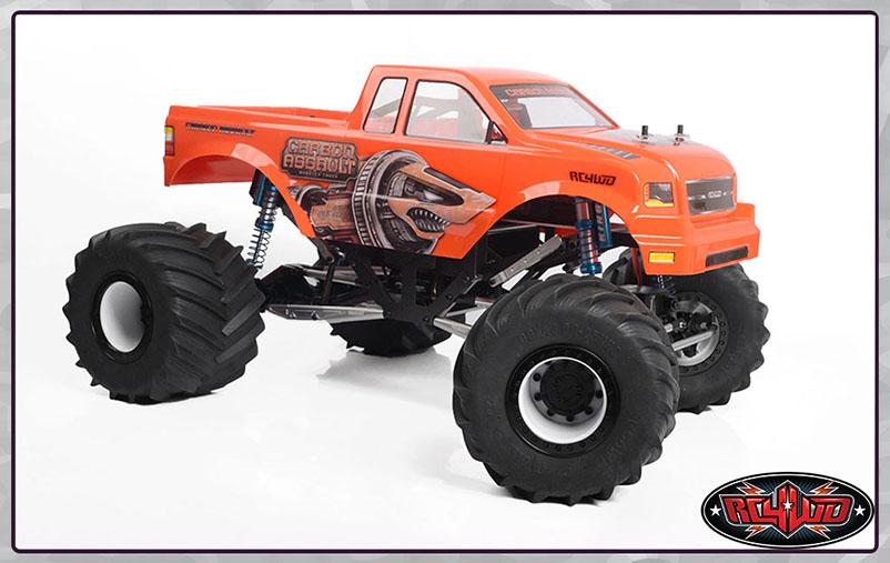 Carbon Assault Monster Truck | RC4WD