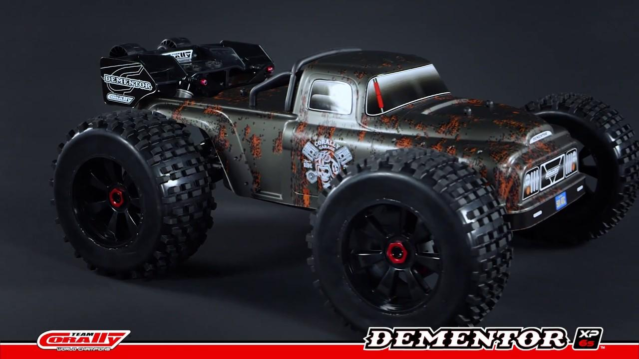 Dementor XP 6S 1/8 Stunt Truck | Team Corally