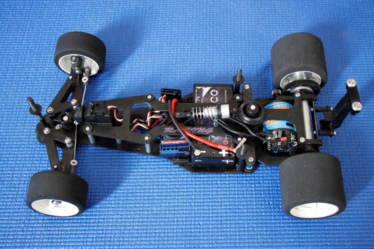 Corally F1 uit 1995 voor de March