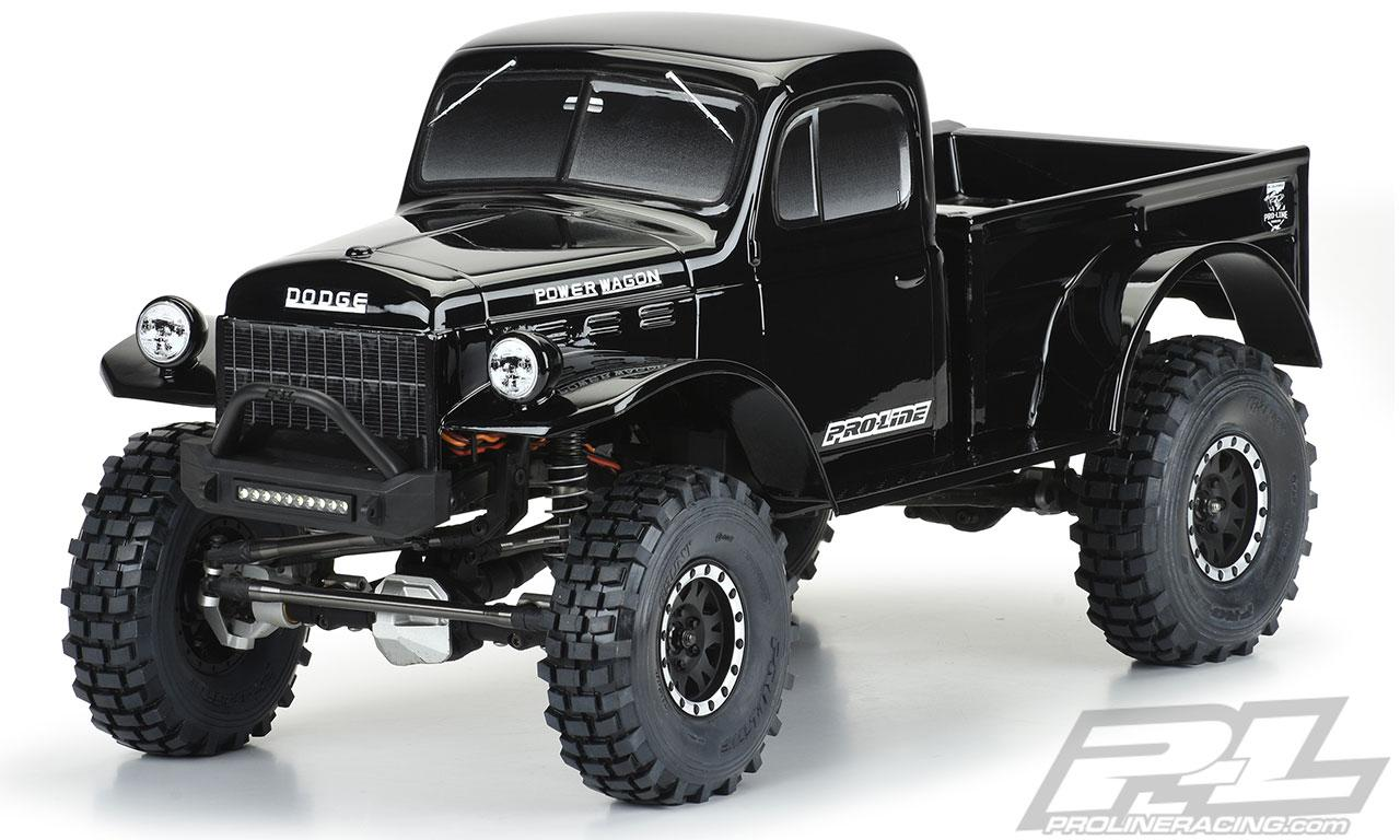 ´46 Dodge Power Wagon Black Body | Pro-Line Racing
