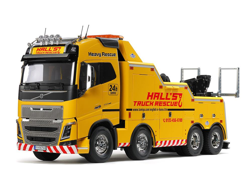 Volvo FH16 Globetrotter 750 8x4 Tow Truck | Tamiya