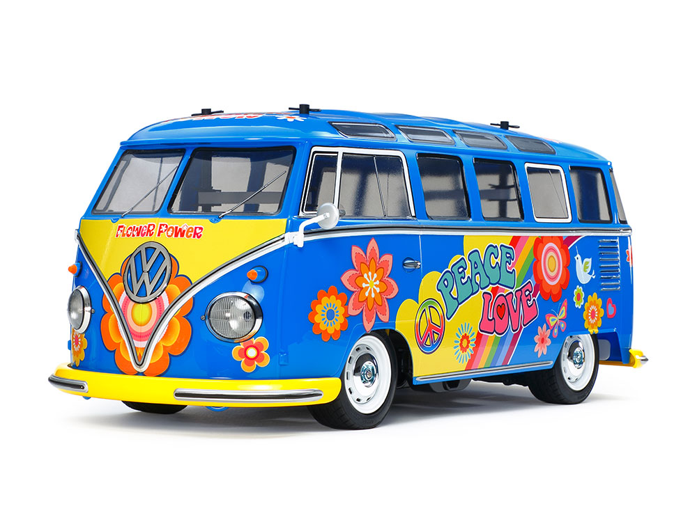 Volkswagen Type 2 Flower Power | Tamiya