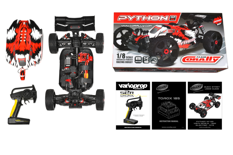 Python XP 6S Racing Buggy | Corally