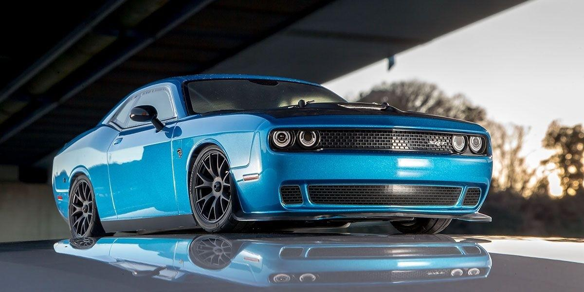 ´15 Dodge Challenger SRT Hellcat B5 blue   Kyosho