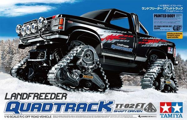 Landfreeder Quadtrack (TT-02FT) | Tamiya